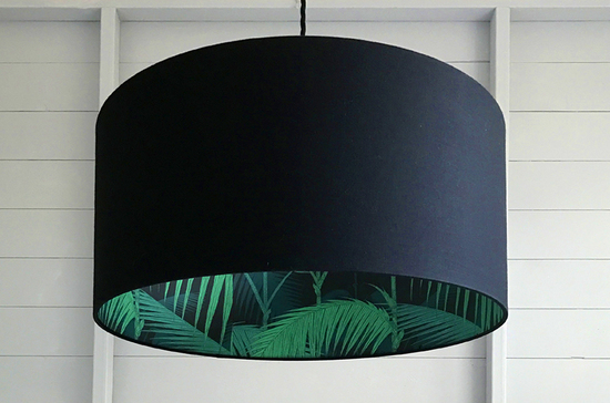 Our new Palm Jungle Silhouette Lampshade