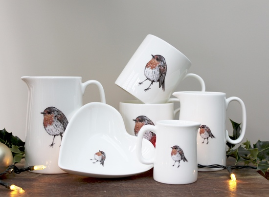 Our robin fine bone china collection