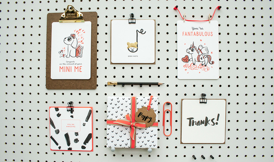 Spots and Stripes Cards and Notes