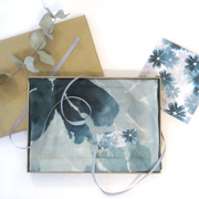Soft Jade Floral with Gift Box and Card