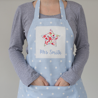 Personalised Star Apron