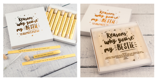 Personalised Reasons Why You're My Bestie Keepsake Gift
