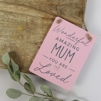 Amazing Mum Mini Sign