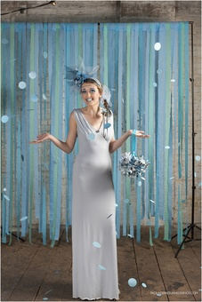 Bouquets and backdrops by The Origami Boutique