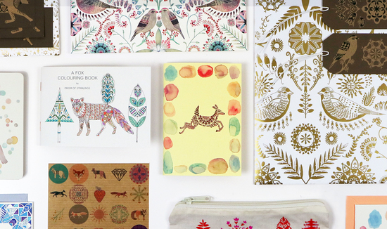 Prism of Starlings Stationery