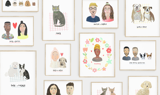Customised Pet and Family Portraits