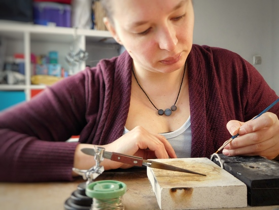 AlexandraFlynn Jewellery workshop