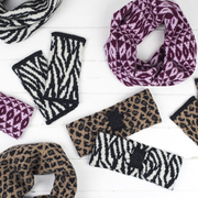 Mini cowls, headbands and wristwarmers