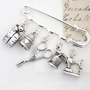 Our sewing brooch is always popular.