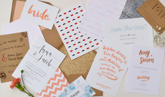 Confetti Designs wedding stationery