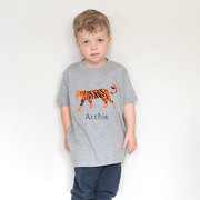 Personalised Tiger T shirt