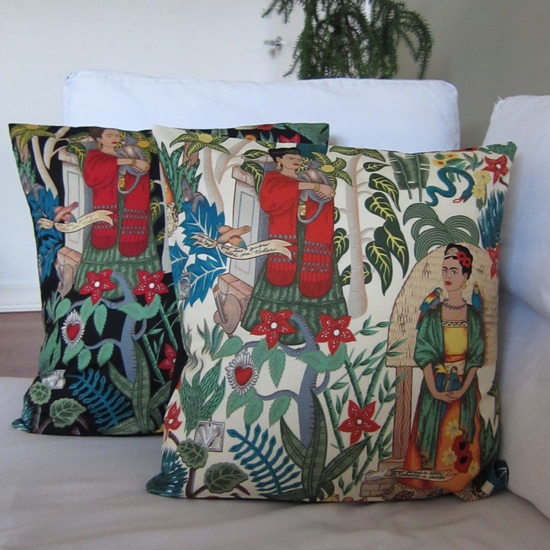 2 of the many Frida Kahlo products available