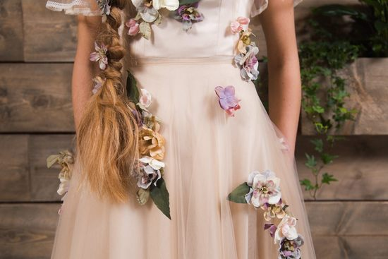 Floral Maya wedding dress
