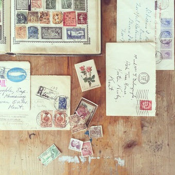 envelopes, stamps and stationery are my true loves
