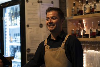 Xhulio, our master mixologist
