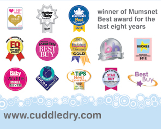 Cuddledry multi award winning