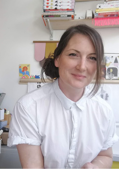 Hi! I am Abi and I am the designer and maker at Red Hand Gang
