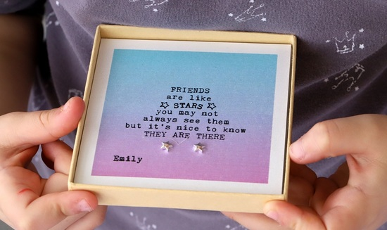 Personalised design your own friends are stars