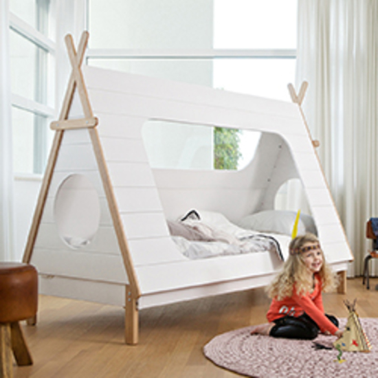 Kids Tipi Cabin Bed In Solid Pine