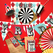 Vintage Circus party box
