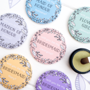 Will you be my Bridesmaid pocket mirrors