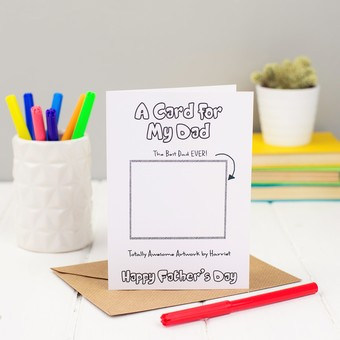 Design your Personalised Father's Day Card