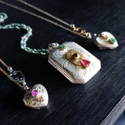 Good enough to eat..revitalised vintage lockets