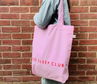 No Sleep club Tote