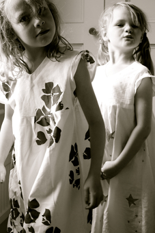 Passionate about repurposing and history, all the fabric is antique cotton and linen saved from being lost in time and given a second life for life loving kids