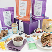 Now you can snack and bake with our 100% plant-based, refined sugar free hampers.