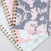 Hand personalised luxury notebooks