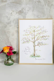 Our most popular family tree print