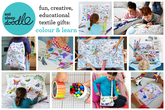 fun, educational textile gifts