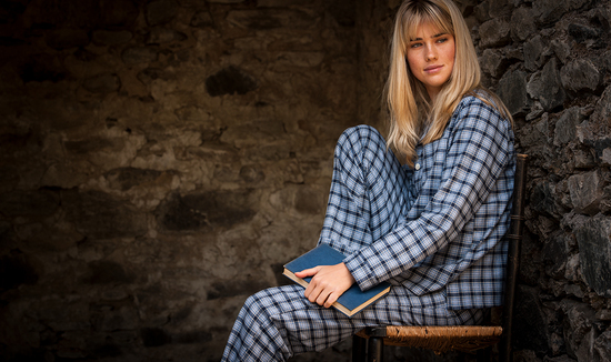 Women's brushed cotton pyjamas
