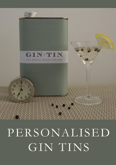 GiN IN A TIN - PERSONALISED GIN GIFTS
