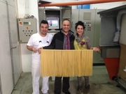 With our award winning pasta supplier