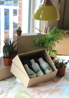 Landscape Bottle Vases