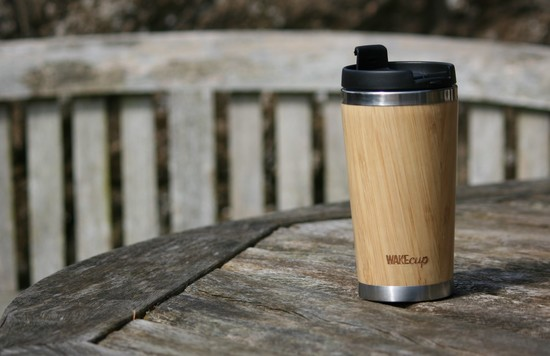 WAKEcup 420ml coffee cup