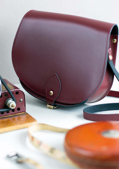 N'Damus London Leather saddle Bag
