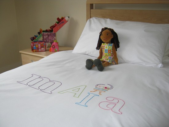 Personalised Random Font Duvet Cover for Kids
