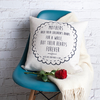 Mother' Day Personalised Cushion Cover