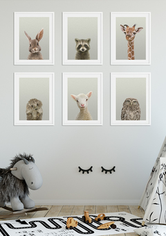 Nursery Decor Ideas, Animal Wall Art Prints