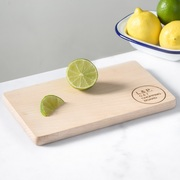 Personalised gin & tonic wooden chopping board