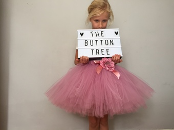 the button tree tulle tutu