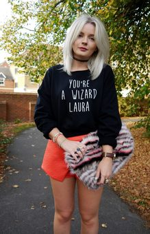 Personalised You're A Wizard Sweatshirt