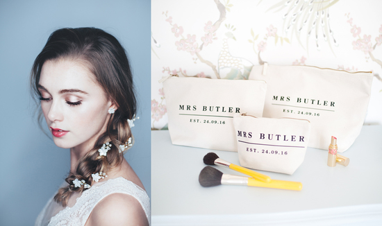 Rosie Willett Designs hair pins and make up bags