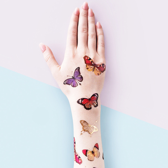 PAPERSELF Butterfly Temporary Tattoo