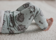 Organic Unisex Baby and Toddler Elephant Leggings