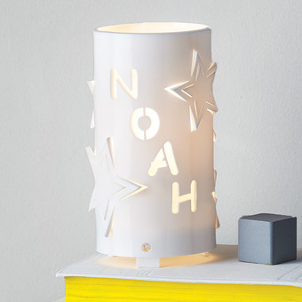 Personalised star night light