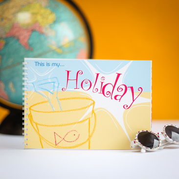 This is my Holiday is a fun activity book for children, that will become a lovely keepsake book once completed